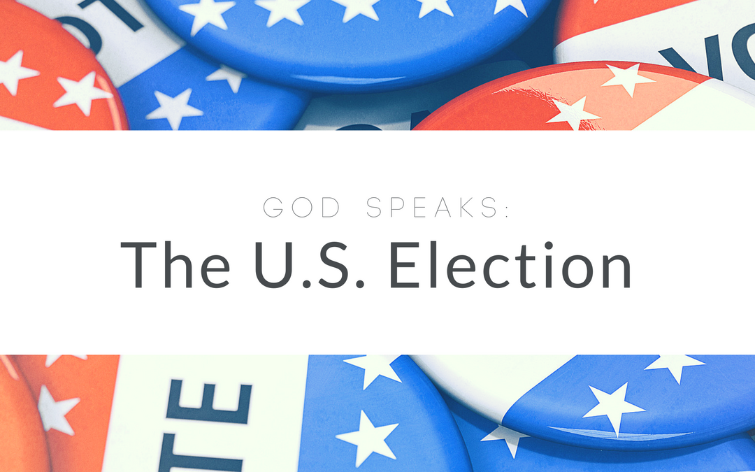GOD Speaks: The U.S. Election