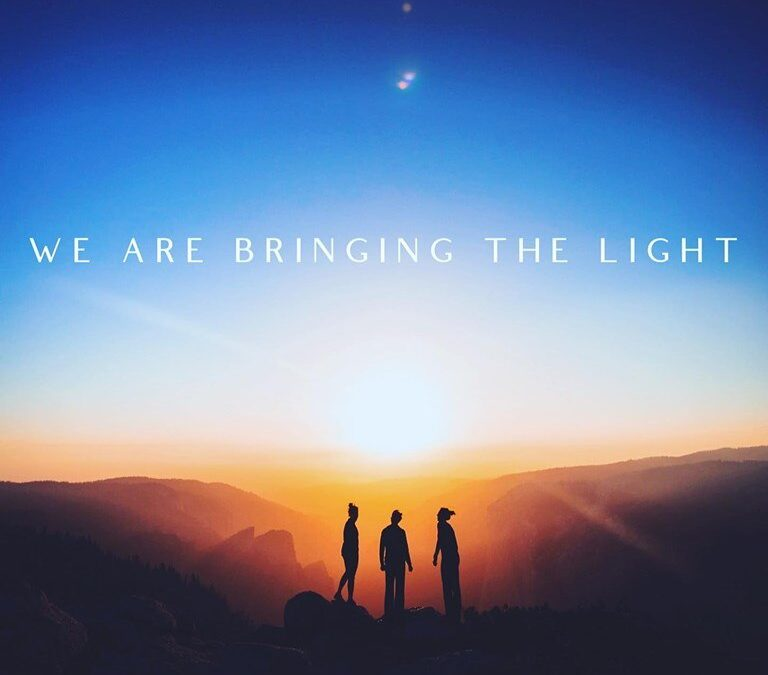 WE ARE BRINGING THE LIGHT.